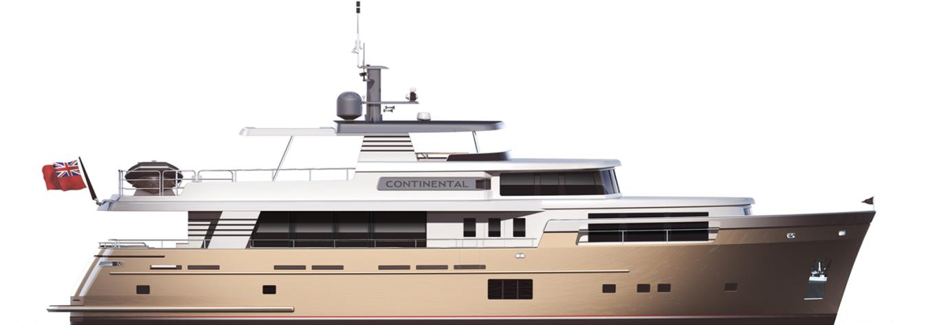 28.00M RAISED PILOTHOUSE CONTINENTAL FOUR